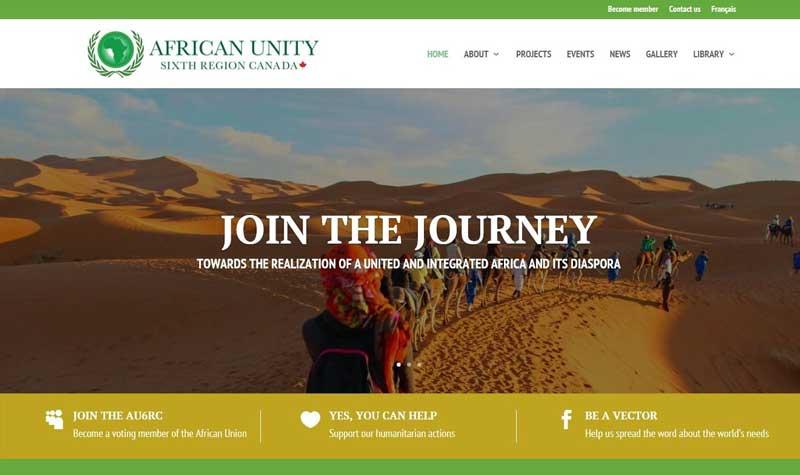 African Union 6th Region Canada